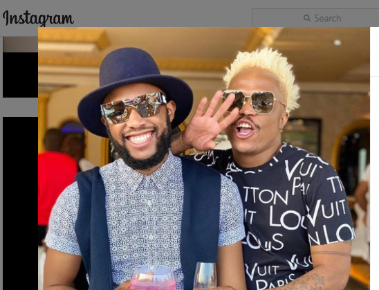 Photos Somizi Mhlongo And Mohale Celebrate Their 1st Traditional Wedding Anniversary With These Sweet Words Theentbuzz